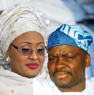 At Last, Buhari's Wife Sues Noisemaker Gov. Fayose Over  Halliburton Scandal