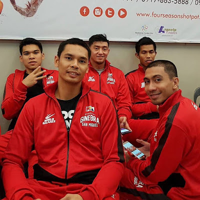 Ginebra trade rumors Aljon Mariano and Raymon Jamito