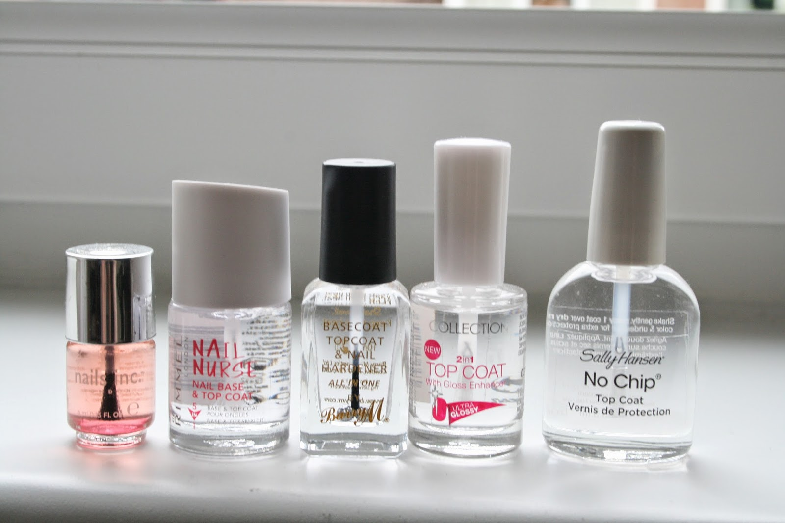 Nails Inc Caviar, Rimmel Nail Nurse, Barry M, Collection, Sally Hansen