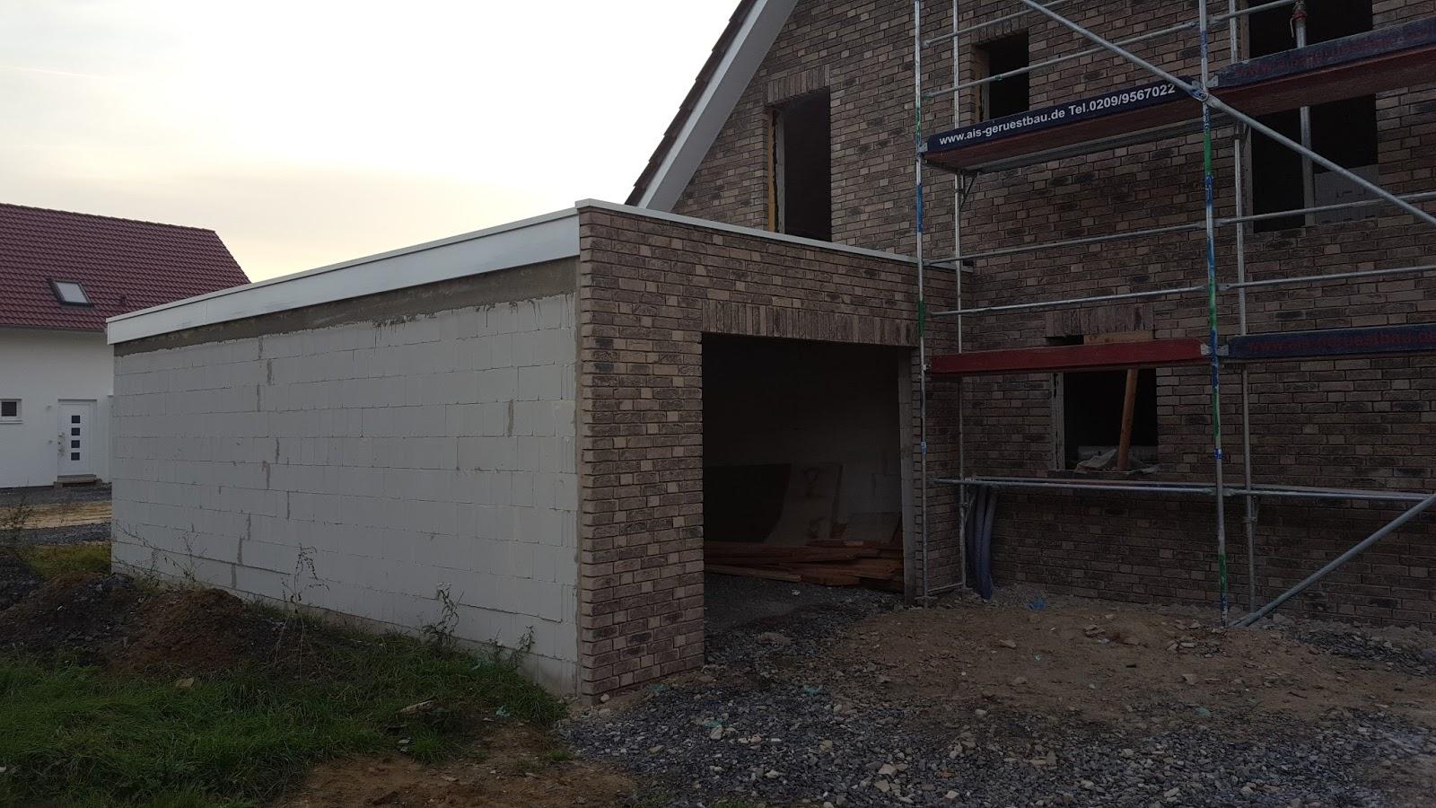 Erstaunlich Garage Am Haus Das Beste Von Der Dachdecker Hat In Der Letzten Woche