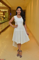 Daksha Nagarkar Cute Beauty in Sleeveless White Dress at Khwaaish Exhibition Launch 2017 ~  Exclusive 070.JPG