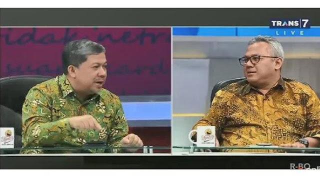 Di Depan Ketua KPU, Fahri Hamzah 'Ngegas' soal Dugaan Tidak Wajar DPT Pemilu