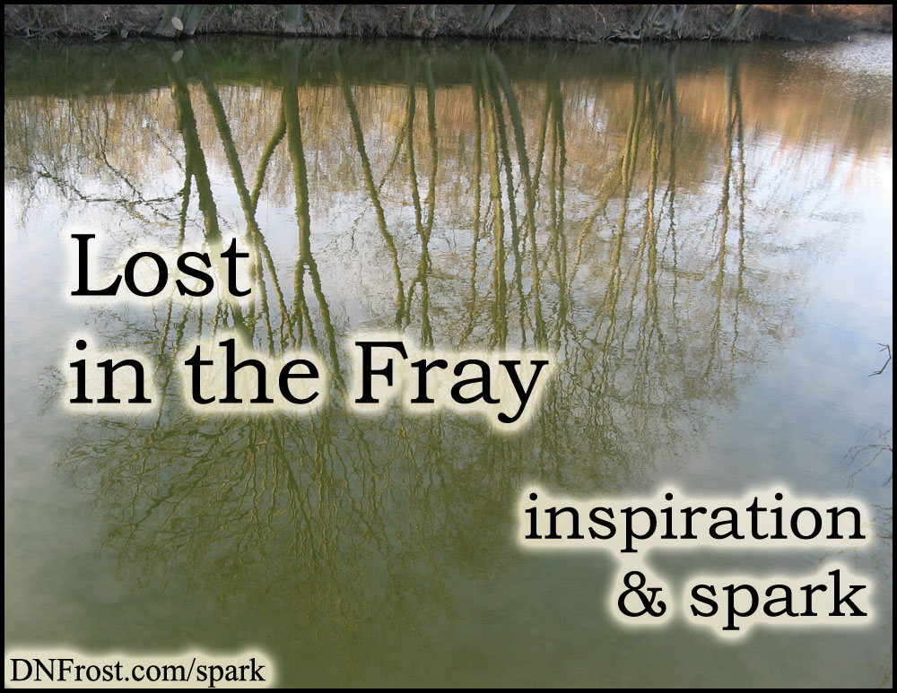 Lost in the Fray: how I lost myself in gaming http://www.dnfrost.com/2016/06/lost-in-fray-inspiration-spark.html #TotKW Inspiration and spark by D.N.Frost @DNFrost13 Part 3 of a series.