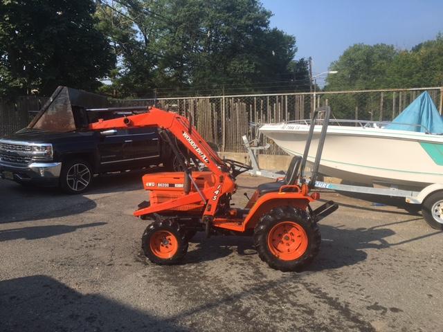 Kubota B6200 Front Axle : Newsearch equipment salvage kubota b wheel drive