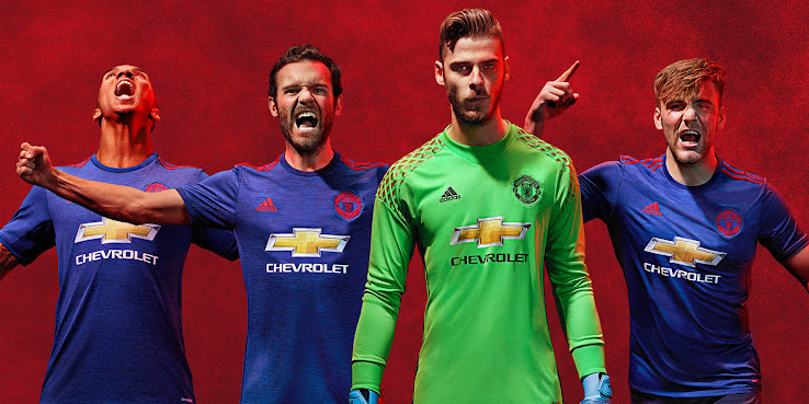Manchester United 16-17 Goalkeeper Kit Released - Sports kicks 30c1ffb78