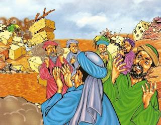"""""""Aad"""" adl nama bapa suatu suku yg hidup di jazirah Arab di suatu tempat bernama """"Al-Ahqaf"""" terletak di utara Hadramaut atr Yaman dan Umman dan termasuk suku yg tertua sesudak kaum Nabi Nuh serta terkenal dgn kekuatan jasmani dalam bentuk tubuh-tubuh yg besar dan sasa. Mereka dikurniai oleh Allah tanah yg subur dgn sumber-sumber airnya yg mengalir dari segala penjuru sehinggakan memudahkan mereka bercucuk tanam utk bhn makanan mrk. dan memperindah tempat tinggal mereka dgn kebun-kebun bunga yg indah-indah. Berkat kurnia Tuhan itu mereka hidup menjadi makmur sejahtera dan bahagia serta dalam waktu yg singkat mereka berkembang biak dan menjadi suku yg terbesar diantara suku-suku yg hidup di sekelilingnya.  Sebagaimana dgn kaum Nabi Nuh kaum Hud ialah suku Aad ini adl penghidupan rohaninya tidak mengenal Allah Yang Maha Kuasa Pencipta alam semesta. Mereka membuat patung-patung yg diberi nama """" Shamud"""" dan """" Alhattar"""" dan itu yg disembah sebagai tuhan mereka yg menurut kepercayaan mereka dpt memberi kebahagiaan kebaikan dan keuntungan serta dapat menolak kejahatan kerugian dan segala musibah. Ajaran dan agama Nabi Idris dan Nabi Nuh sudah tidak berbekas dalam hati jiwa serta cara hidup mereka sehari-hari. Keni'matan hidup yg mereka sedang tenggelam di dalamnya berkat tanah yg subur dan menghasilkan yg melimpah ruah menurut anggapan mereka adl kurniaan dan pemberian kedua berhala mereka yg mereka sembah. Karenanya mereka tidak putus-putus sujud kepada kedua berhala itu mensyukurinya sambil memohon perlindungannya dari segala bahaya dan mushibah berupa penyakit atau kekeringan.  Sebagai akibat dan buah dari aqidah yg sesat itu pergaulan hidup mereka menjadi dikuasai oleh tuntutan dan pimpinan Iblis di mana nilai-nilai moral dan akhlak tidak menjadi dasar penimbangan atau kelakuan dan tindak-tanduk seseorang tetapi kebendaan dan kekuatan lahiriahlah yg menonjol sehingga timbul kerusuhan dan tindakan sewenang-wenang di dalam masyarakat di mana yg kuat menindas yg lemah yg be"""