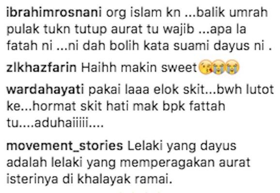 Fattah Amin digelar dayus kerana biarkan Fazura berpakaian seksi