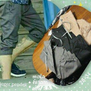Celana Jogger Pants Pendek