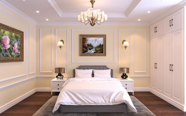 Thiết kế mẫu phòng ngủ căn hộ Iris Garden