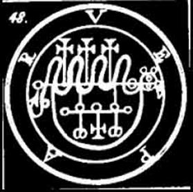 vepar, sigilo, goetia, ocultismo