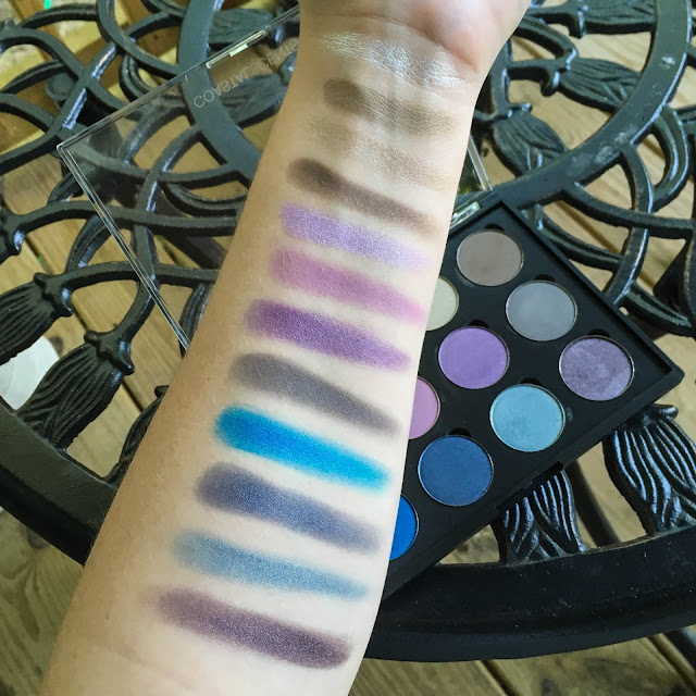 coastal scents shadow pots hot pots 2017 white silver bermuda sand ashen brownstone ice ballet antique lilac perfect plum ash grey brandeis blue tanzanite gypsy blue elven midnight swatches swatch swatched
