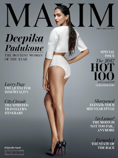 Deepika Padukone Maxim Cover Photo June-July 2017