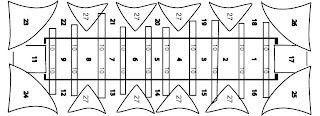 capela sistina teto schema - Capela Sistina Fechada para o Conclave