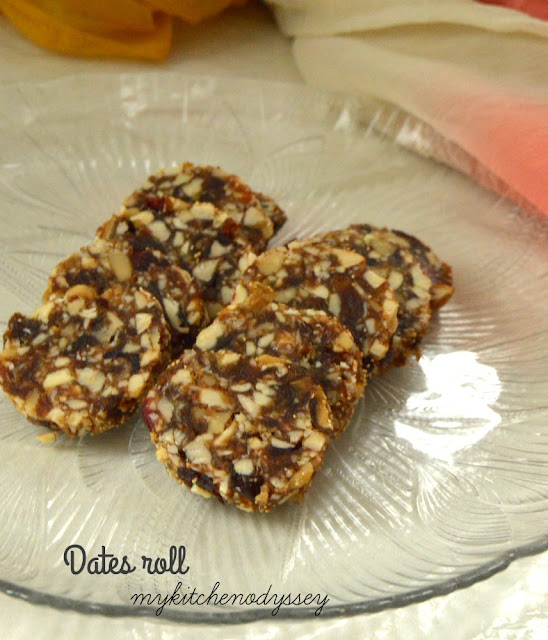 dates and nut rolls