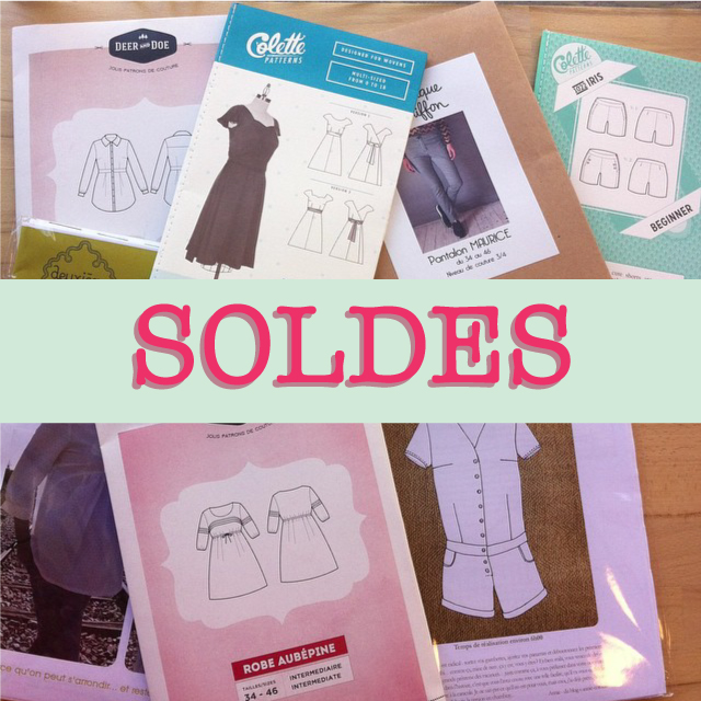 Soldes patrons couture