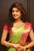 pranitha glam pics in saree-thumbnail-20