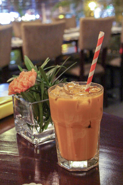 Thai Iced Tea of Azuthai in Makati