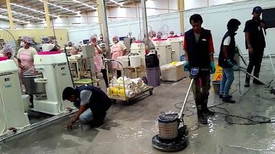 Harga Jasa Mesin Poles Beton Floor Scrubber Terbaru