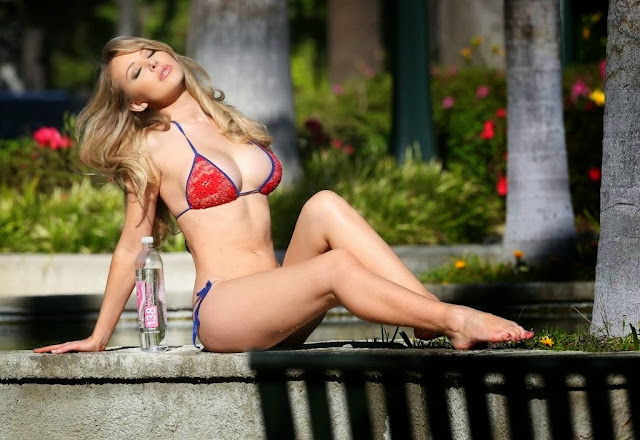 Playboy Playmate Tiffany Toth - Water Campaign 2013
