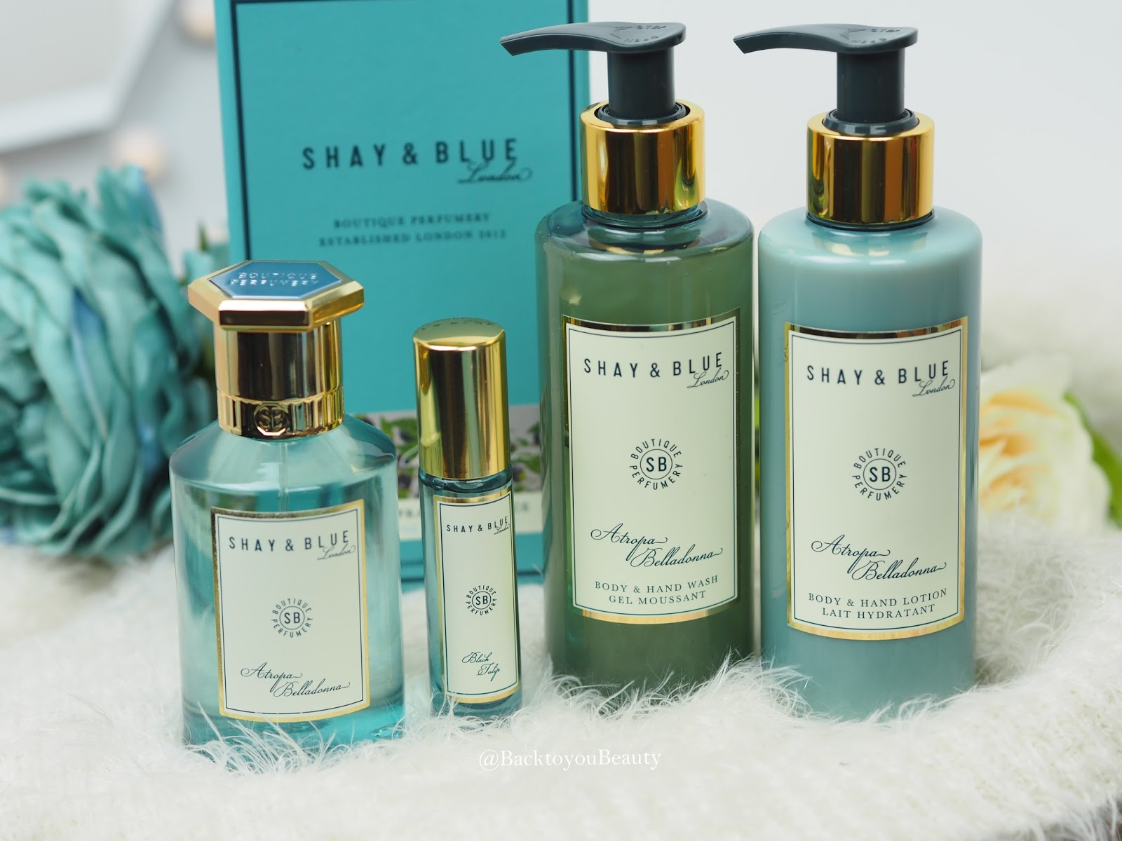 Shay & Blue 4 piece Atropa Belladonna Collection Tsv