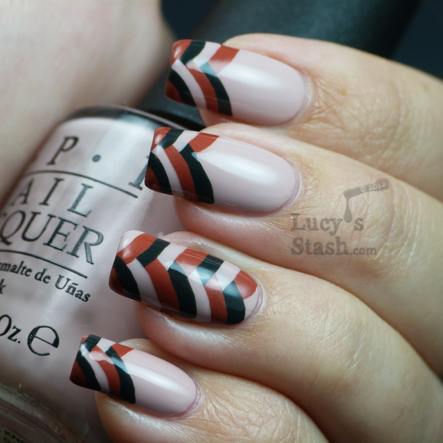 Lucy's Stash - Fishtail braid french tip