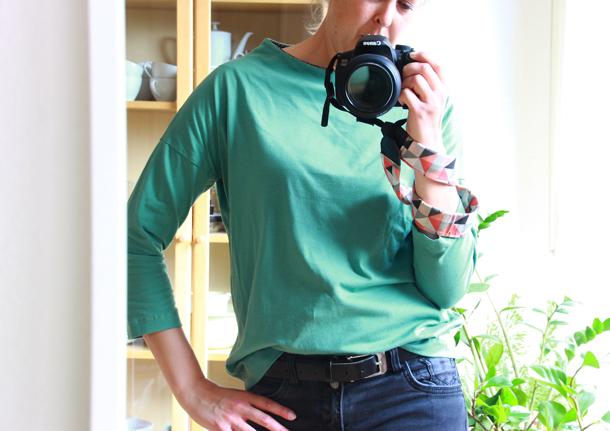 binedoro Blog, Shirt, nähen, Frau Nora, Jolijou, Swafing, Sweat, Jersey