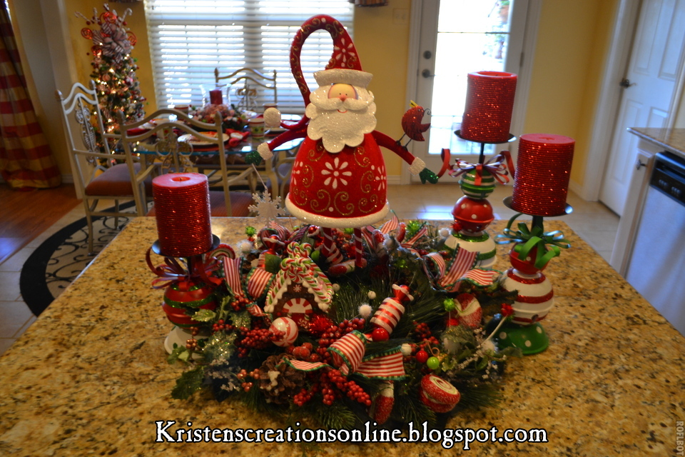 Christmas Kitchen Decorating Ideas: Kristen's Creations: Christmas In The Kitchen