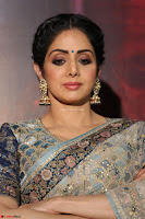 Sri Devi in designer saree stunning beauty at the launch of MOM movie Trailer~  Exclusive 042.JPG