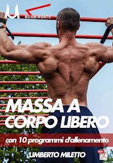 10 schede d'allenamento massa a corpo libero