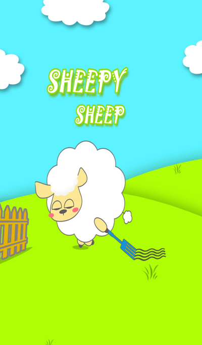 Fluffy Sheepy Sheep