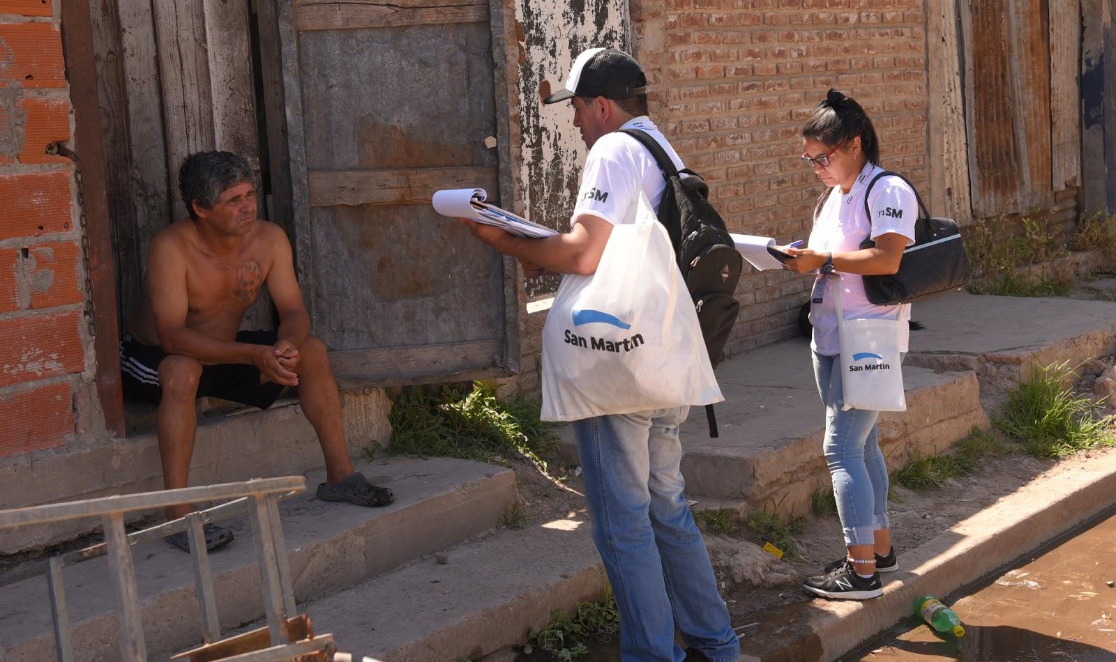 San martin los voluntarios de volve a la escuela - Muebles martin los barrios ...