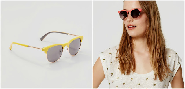 LOFT Summer Retro Sunglasses $9 (reg $25)