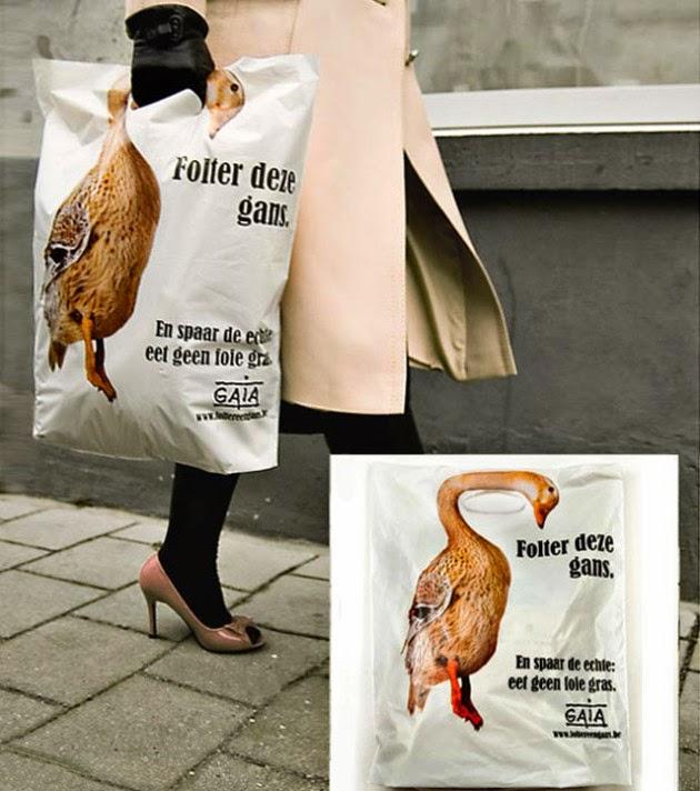 Bagvertising creativo, GAIA