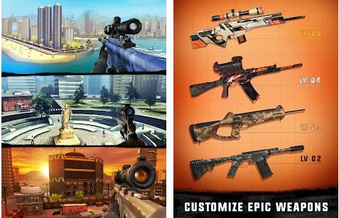 Sniper 3D Assassin Gun Shooter v2.13.0 Mod Apk Android Gratis
