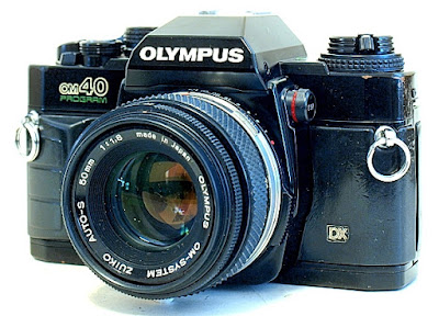 Olympus OM40, Front View