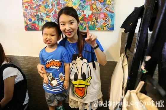 Daidai & Pipi 的快樂魔法: [皮皮] bossini Disney Classic Collection Art Jam Blogger Gathering
