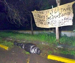 "Ol time boss Rolando ""El Roly"" López Salinas body dumped in San Pedro N.L."
