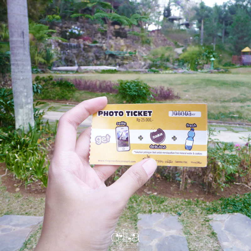 Piknik di The Green Forest Bandung Photo Ticket