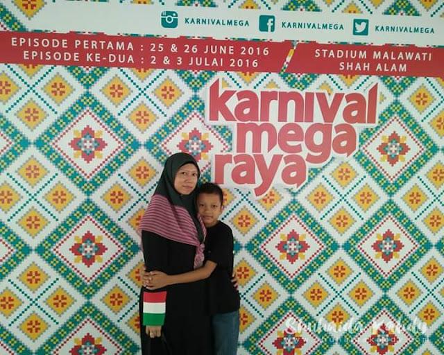 Sambutan Raya ~ Karnival Mega Raya Stadium Malawati Shah Alam