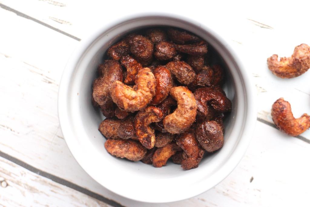 Maple Cinnamon Roasted Cashews Ginger Kitchen