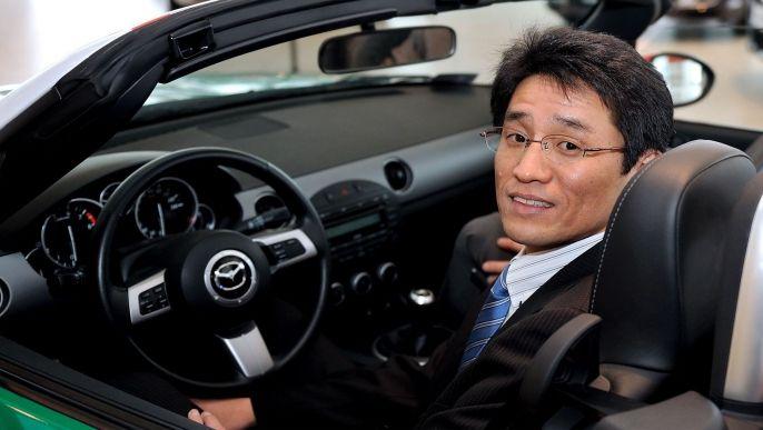 Mazda CEO Miata