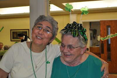 Sisters of Charity of Nazareth Celebrate St. Patrick's Day