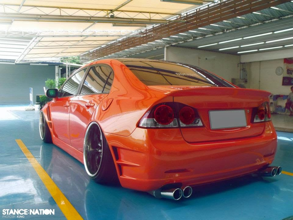 Modified Honda Civic Reborn