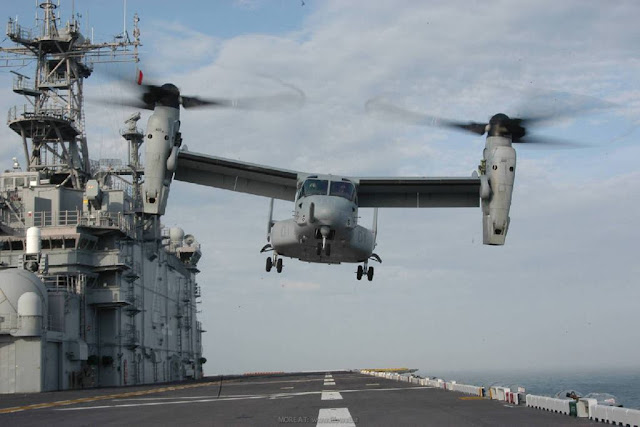 Bell Boeing contract V-22 support