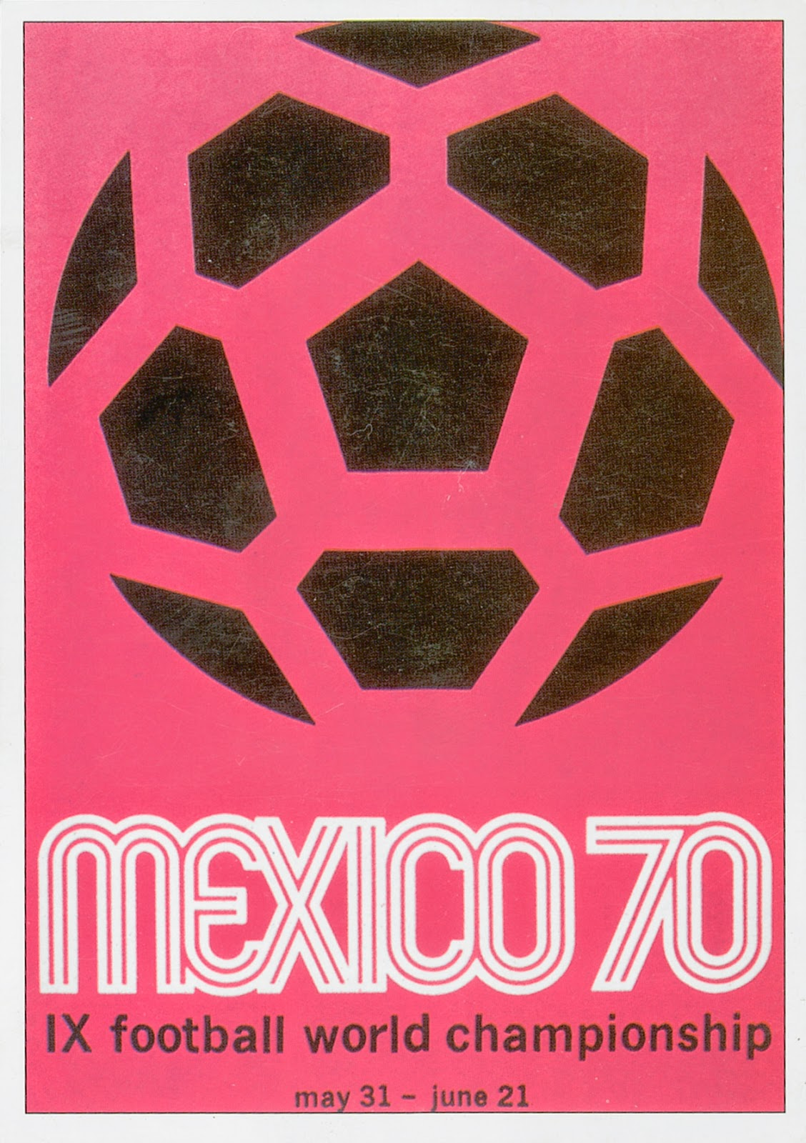 Official Fifa World Cup Posters From 1930 1994 Vintage Everyday