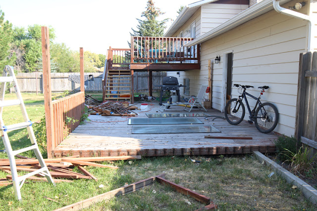 How to save an old wooden deck and give it a new life!