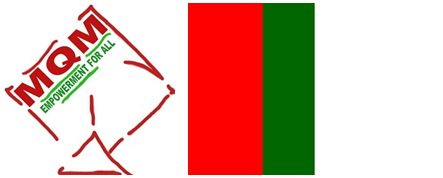 Election Symbol and Flag of MQM