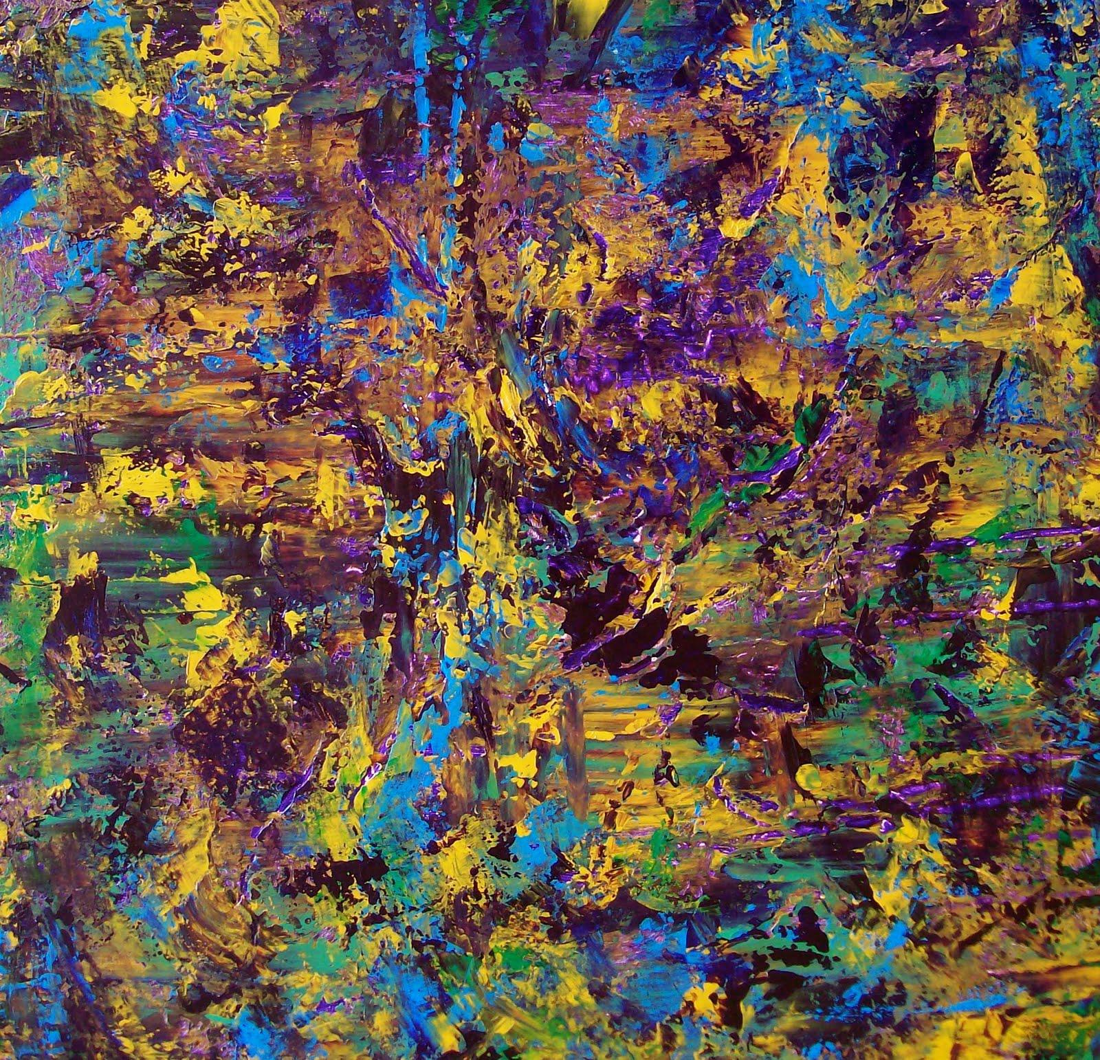 Kimberly Conrad Daily Paintings: Blade Works # 96,Original