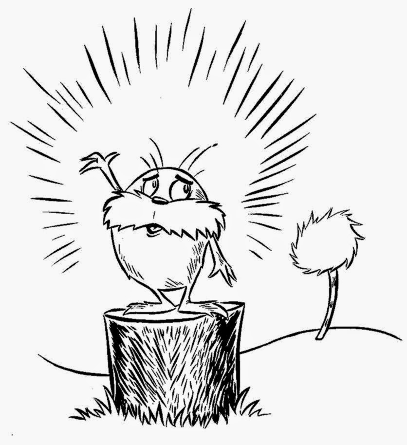 Dr Seuss Coloring Pages  Draw Coloring Pages