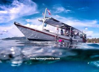 perahu wisata karimunjawa